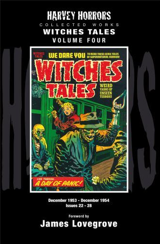 Harvey Horrors Collected Works - Witches Tales [Vol 4]